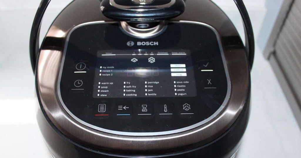 Bosch AutoCook Pro Modes