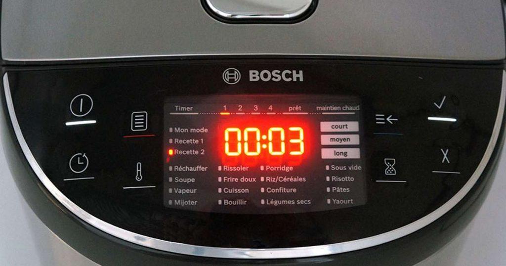 Bosch AutoCook modes