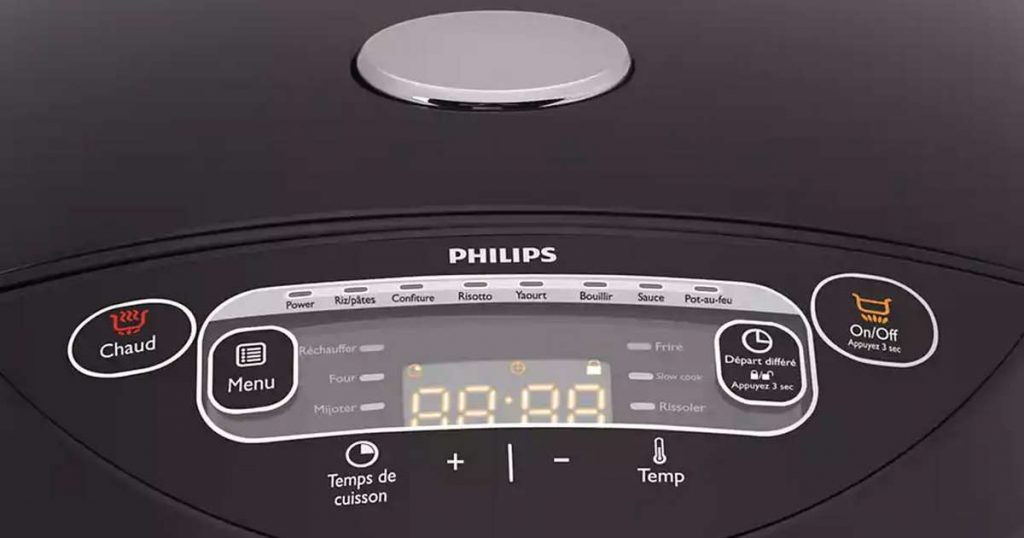 Philips HD3167-77 Programmes