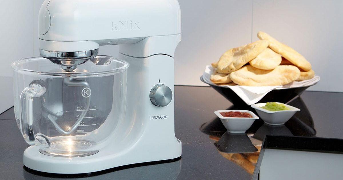Robot pâtissier avec bol en verre