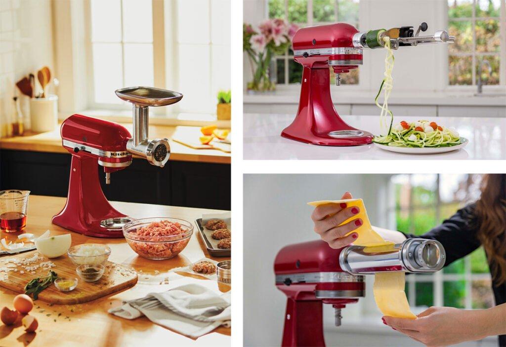 accessoires en option robot patissier kitchenaid