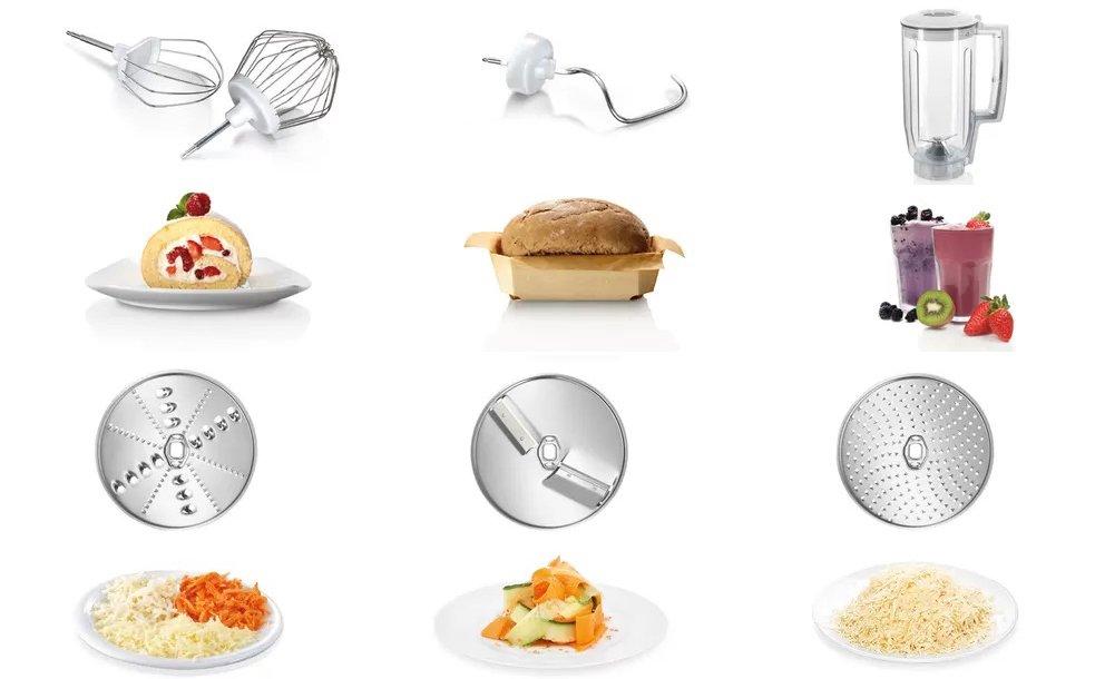 robot cuisine Bosch MUM5 accessoires