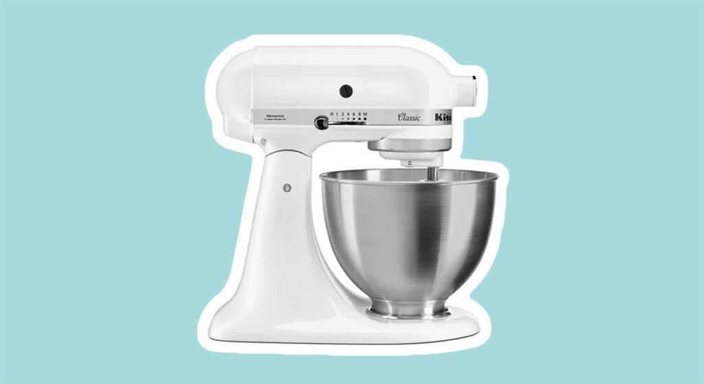 kitchenaid classic blanc