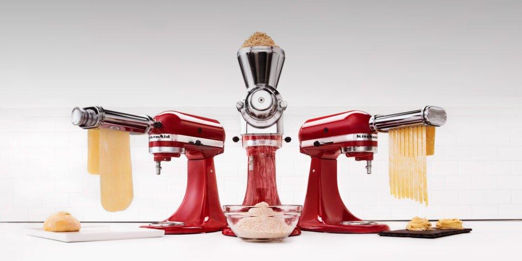 accessoires en option kitchenaid artisan