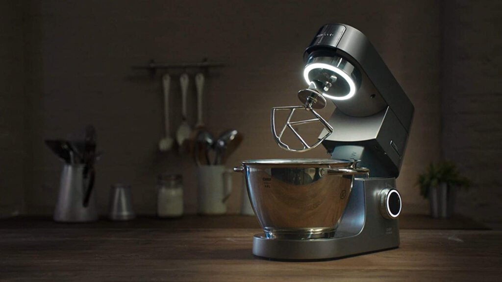 Kenwood chef titanium lumiere