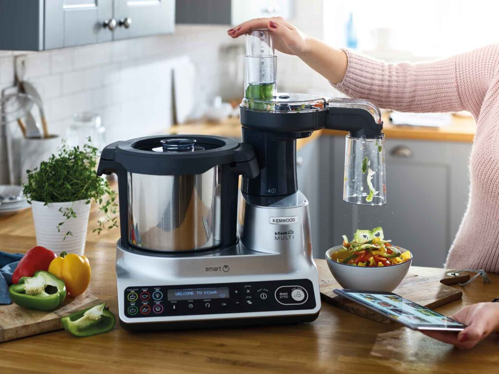 robot cuisine connecté kenwood multi smart