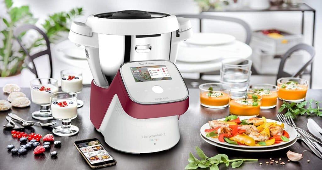 robot cuisine connecté i companion touch xl