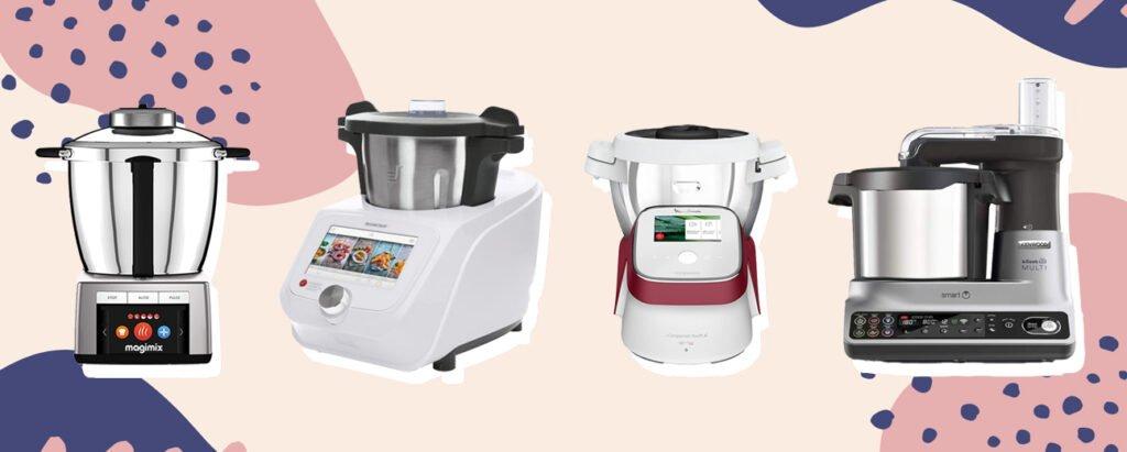 meilleurs robots cuiseurs connectés