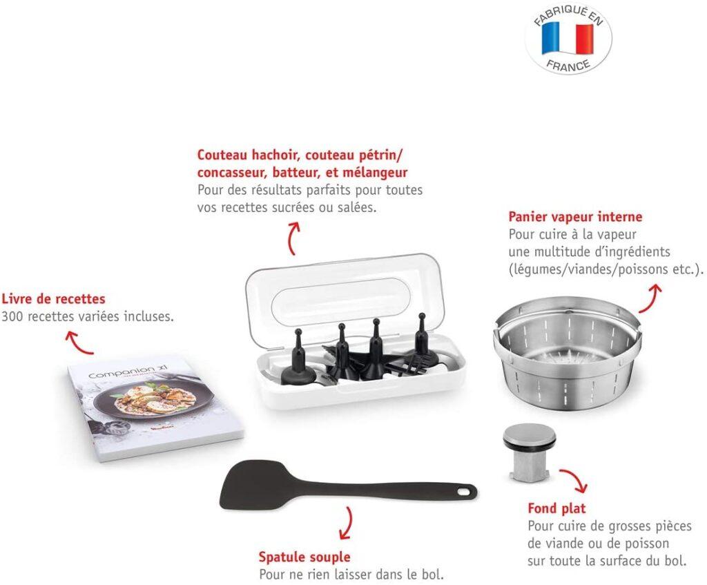 Moulinex Companion XL accessoires